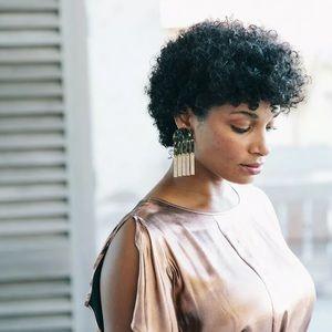 India Hicks CAMO DROP Earrings